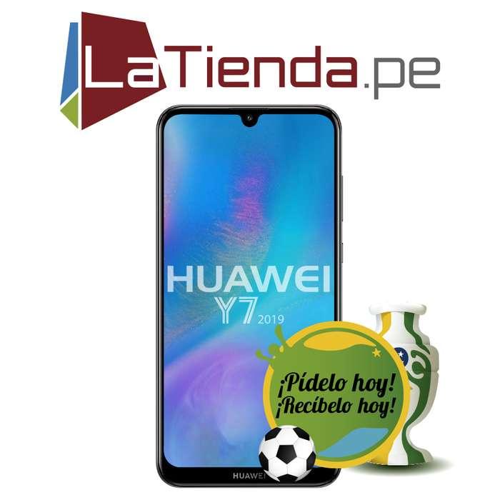 Huawei Y7 2019 cuenta con una pantalla HD