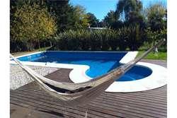 Venta casa a estrenar en Pilar con piscina