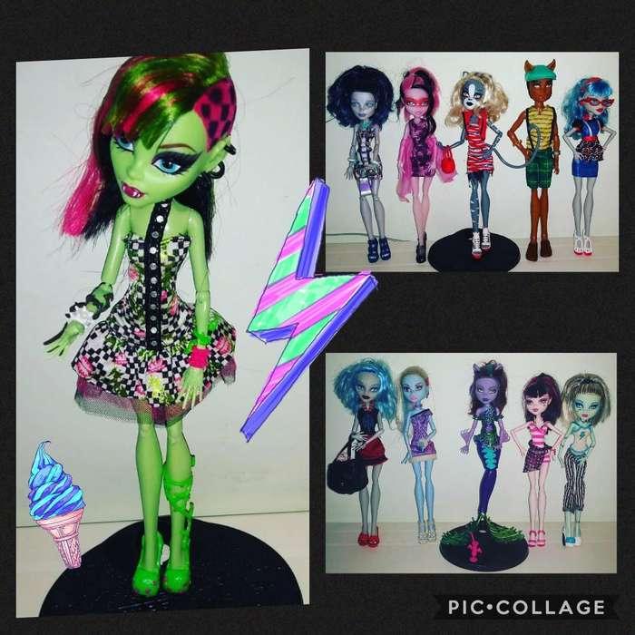 Muñecas Monster High *originales*