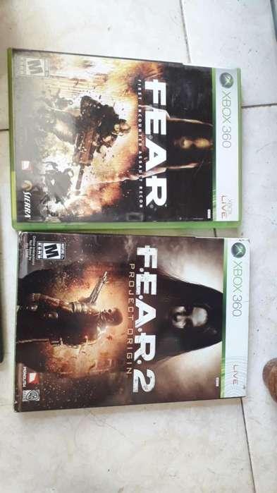 juego xbox fear 1 y 2
