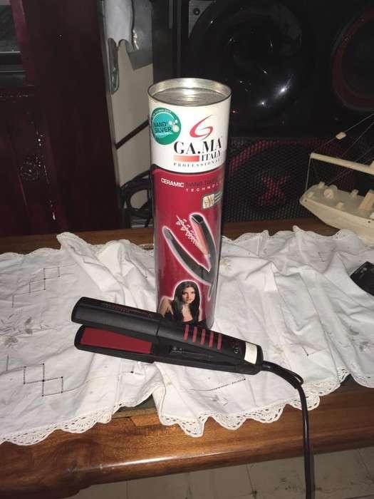 Plancha de cermica para cabello