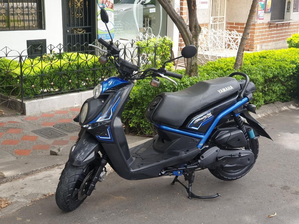 Bws X 2017 Negra Azul