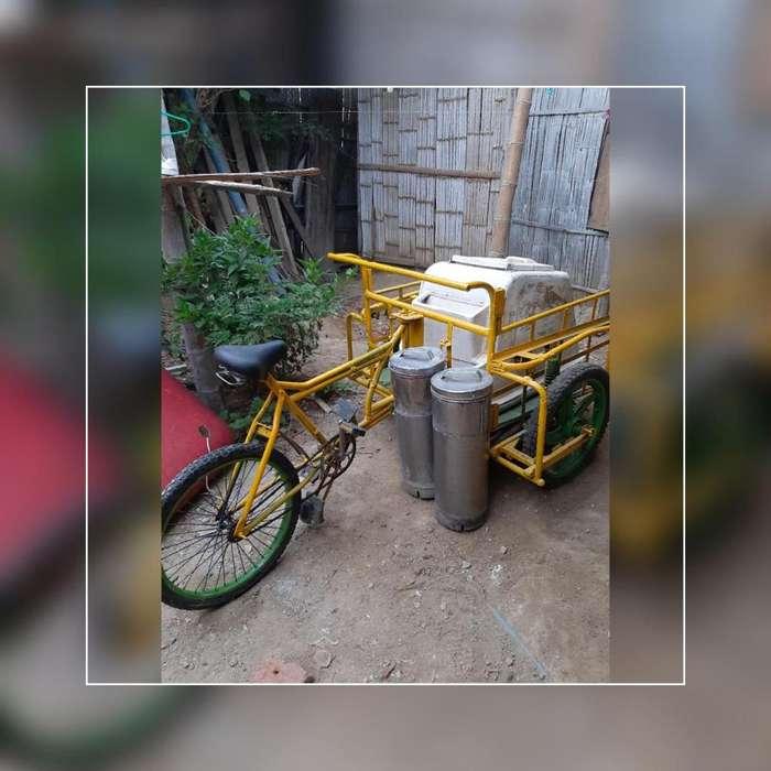 Triciclo para heladeria