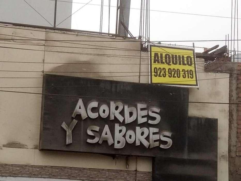 Zárate Boulevard de Zárate Local Comercial en Alquiler en SJL San Juan De Lurigancho