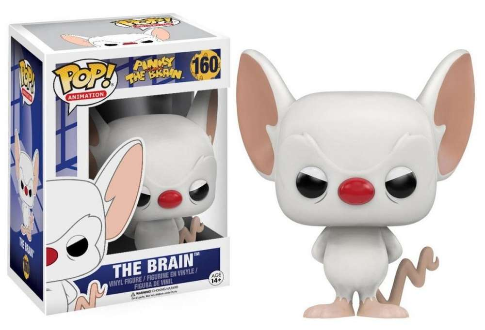 Funko Pop #160 Cerebro - The Brain (Pinky & The Brain)