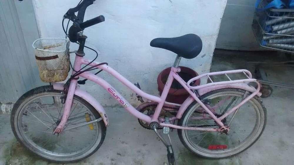 Vendo Bicicleta Nena Rodado 16.b.estado
