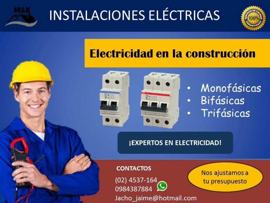 Electricidad en La Construccion