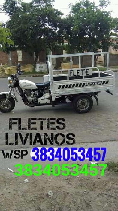 FLETES EN MOTO CARRO 350