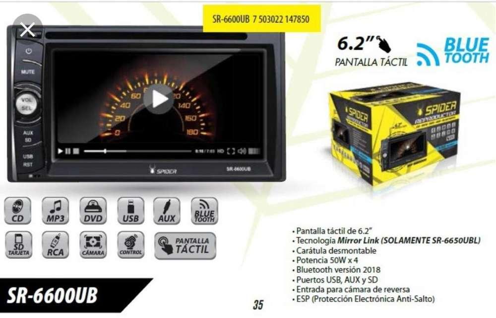 Radio Dvd para Auto