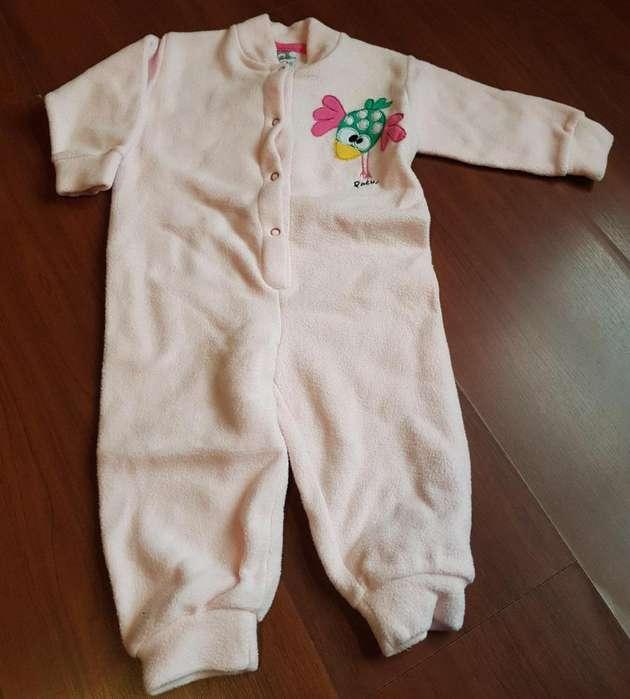 Osito bebe enterito polar. Talle 12 meses