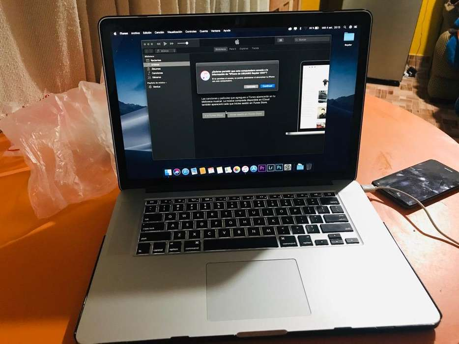Macbook Pro Retina Core I7