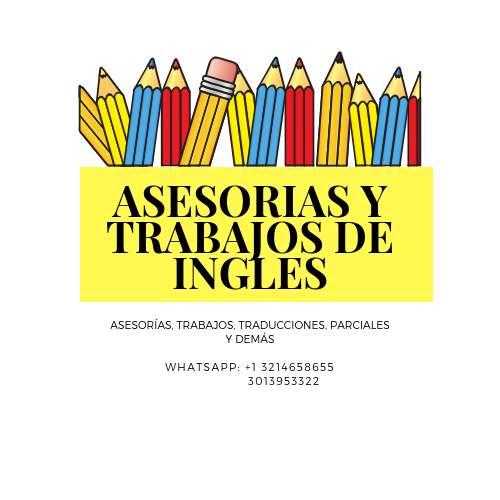 ASESORIAS Y TRABAJOS DE INGLES