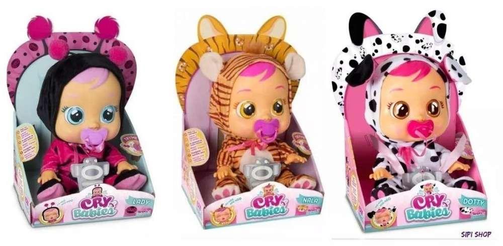 Bebe muñeca Cry Babies Bebes Llorones De Boing Toys Original