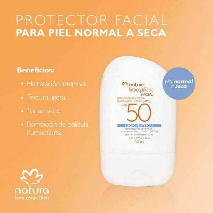 Locion Protectora Facial Natura