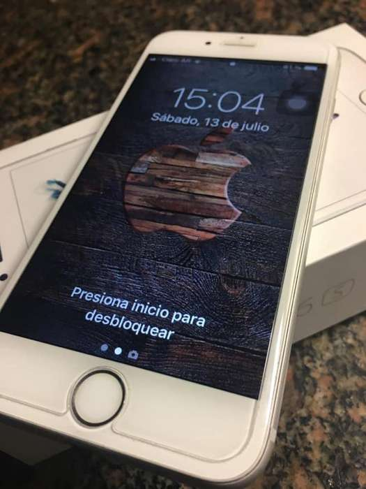 IPHONE 6s de 32gb completo en caja