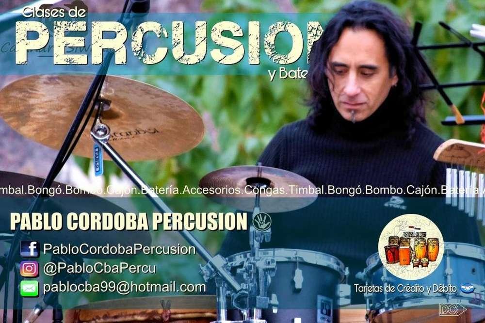 Clases de Percusion y Bateria en Cordoba