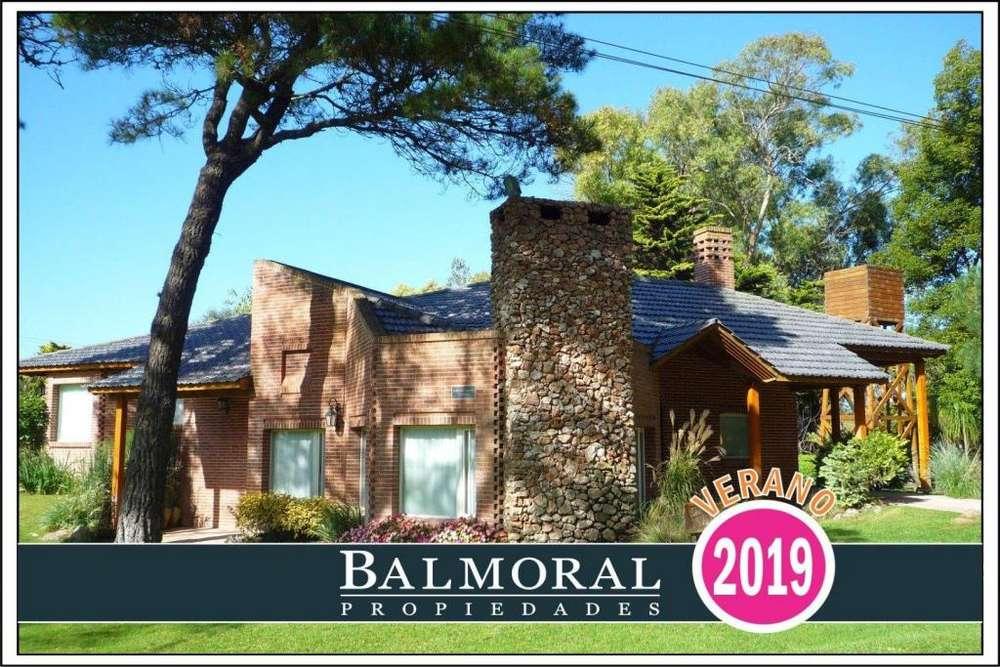 Ref: 8883 - Casa en alquiler, Pinamar, Golf Viejo