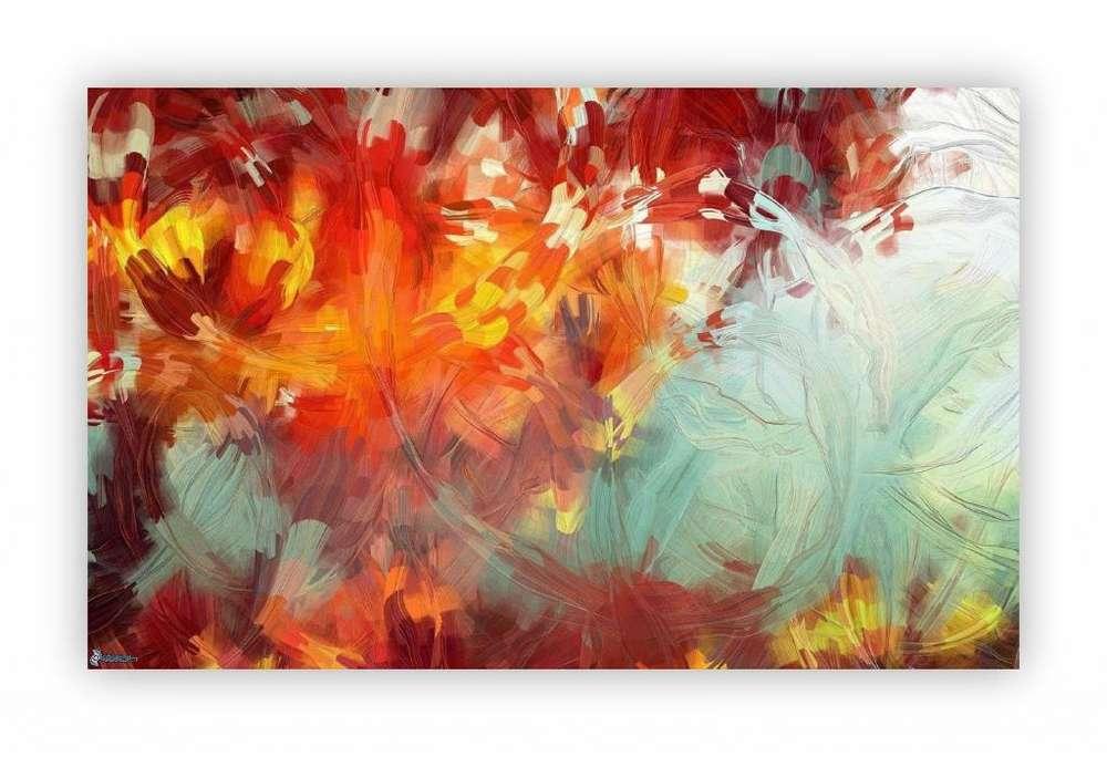 Hermoso cuadro tono otoño 2194