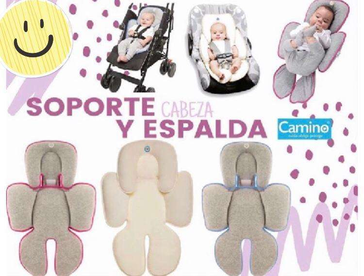 soporte para cabeza y espalda bebe