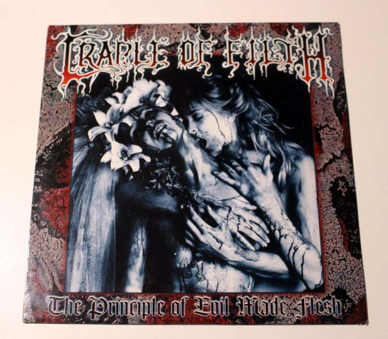 Vinilo Cradle Of Filth Principle Of Evil Made Flesh Cacophonous 1ed