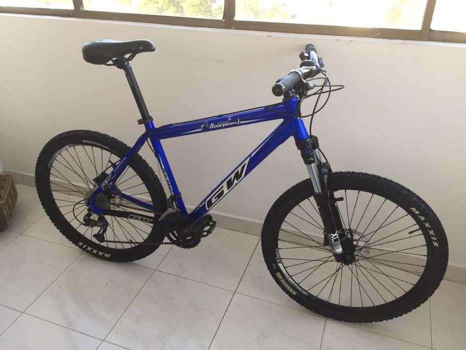 Bicicleta Gw R26 Talla M 9 Velocidades