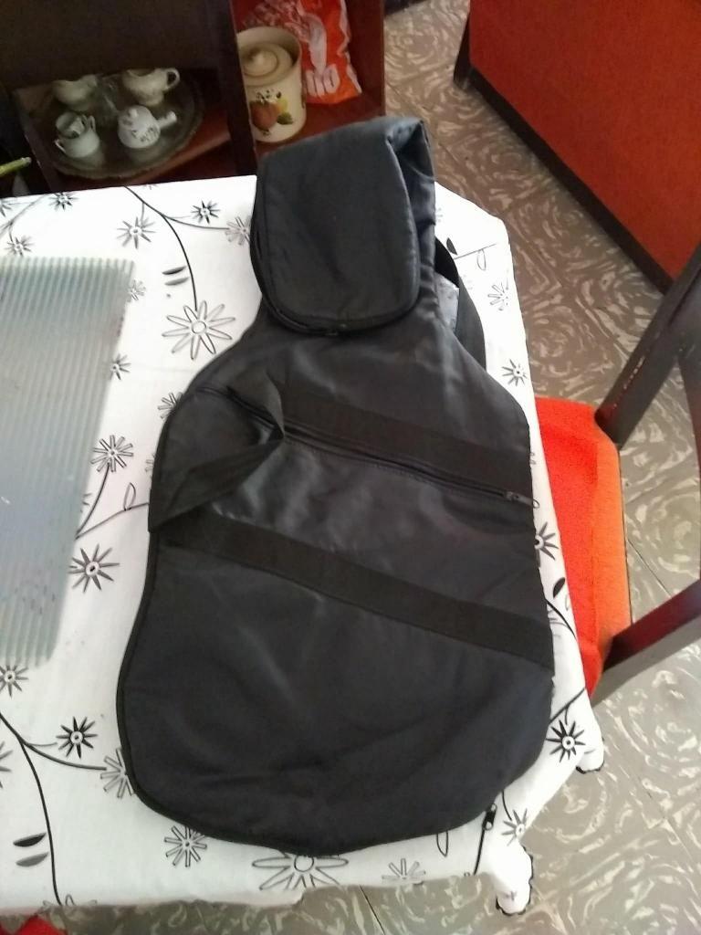 Forro Para Guitarra Electrica Bolsillo Correas