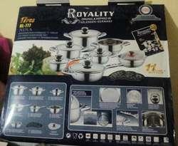 Juego De Ollas Royality Germany 17 Piezas Originales *NUEVO*