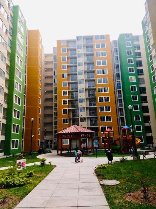 DE ESTRENO Alquiler depa 1er piso en Condominio