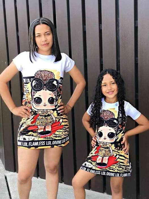 Duo de Ropa Mamá E Hijas
