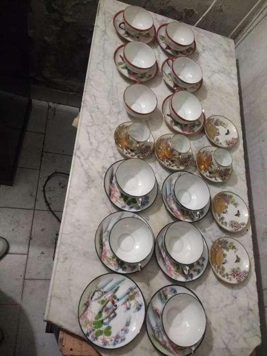 Tazas Japonesas de Té