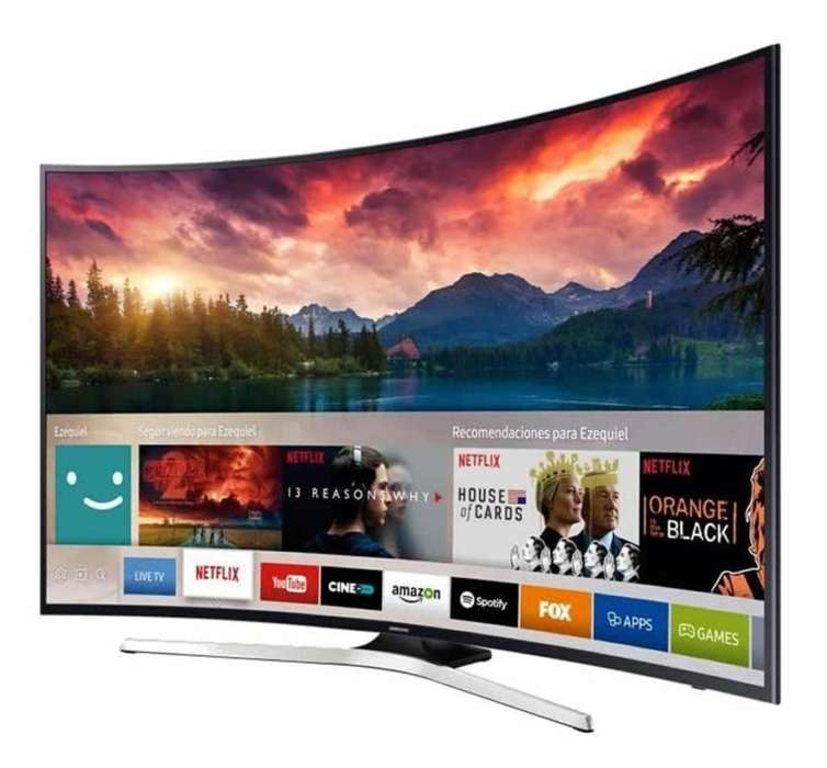 Smart Tv Curve Samsung 55