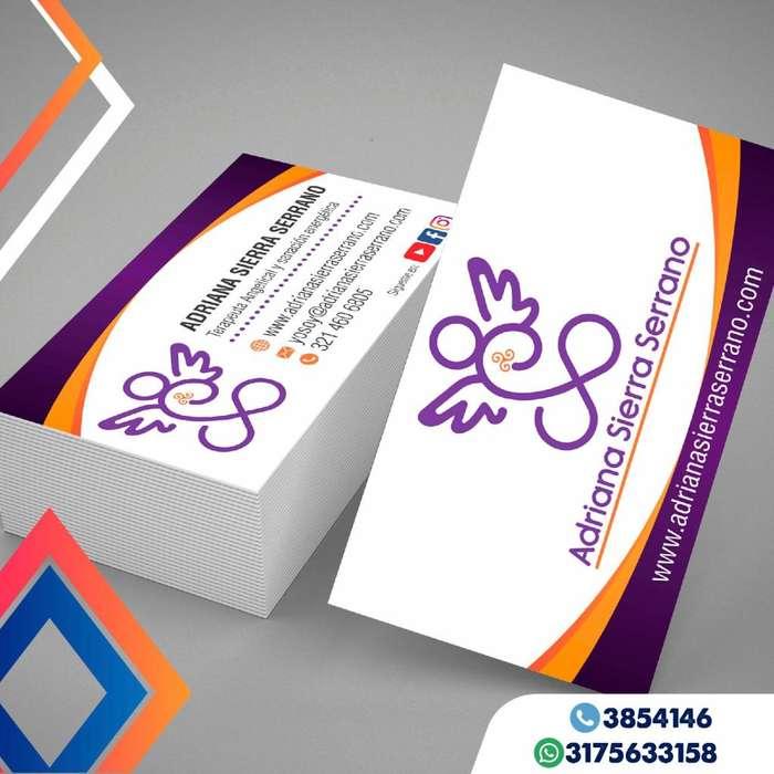 tarjetas de presentación full color impresiones tarjetas mate volantes adhesivos flyers publicidad
