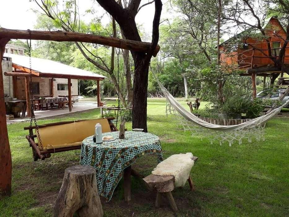 tw66 - Cabaña para 2 a 7 personas con pileta y cochera en Collagasta