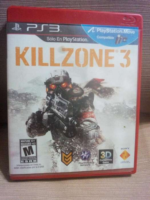 Cambio Killzone 3 Ps3