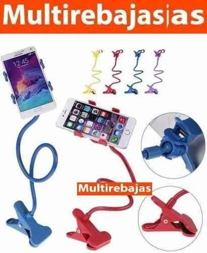 Soporte Con Pinza Flexible Para Celular Iadeal Para Su Hogar
