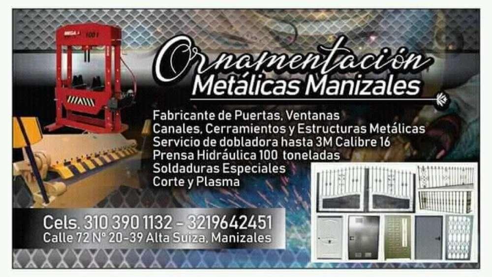 Ornamentación Estructuras Metalicas