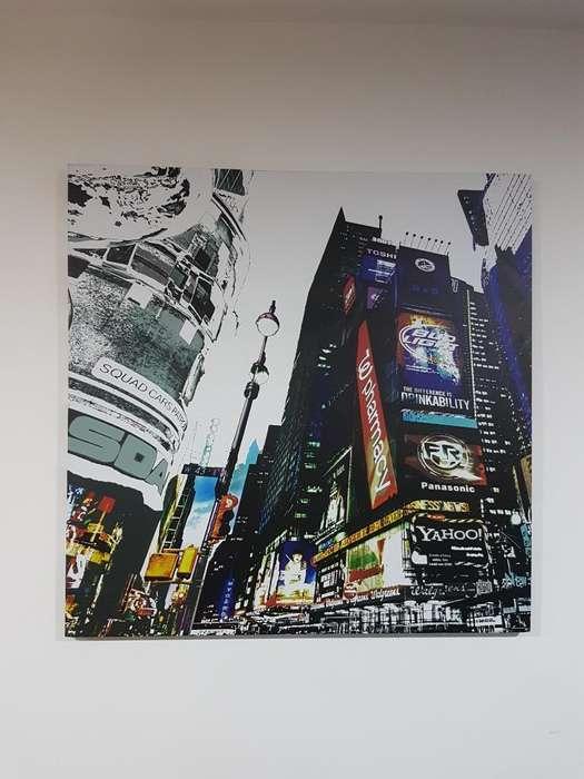 Cuadro Decorativo New York 80x80