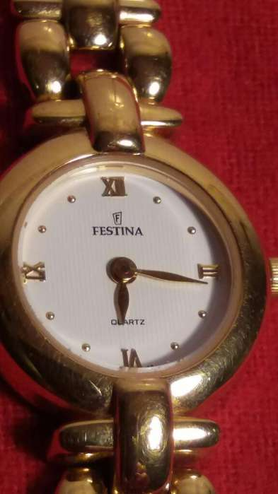 Reloj Oro Festina 5 Micras Mujerjoven