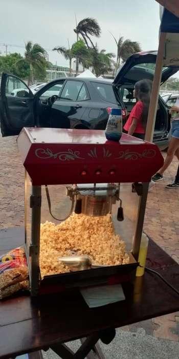 Alquiler de Maquina de Crispetas Raspado