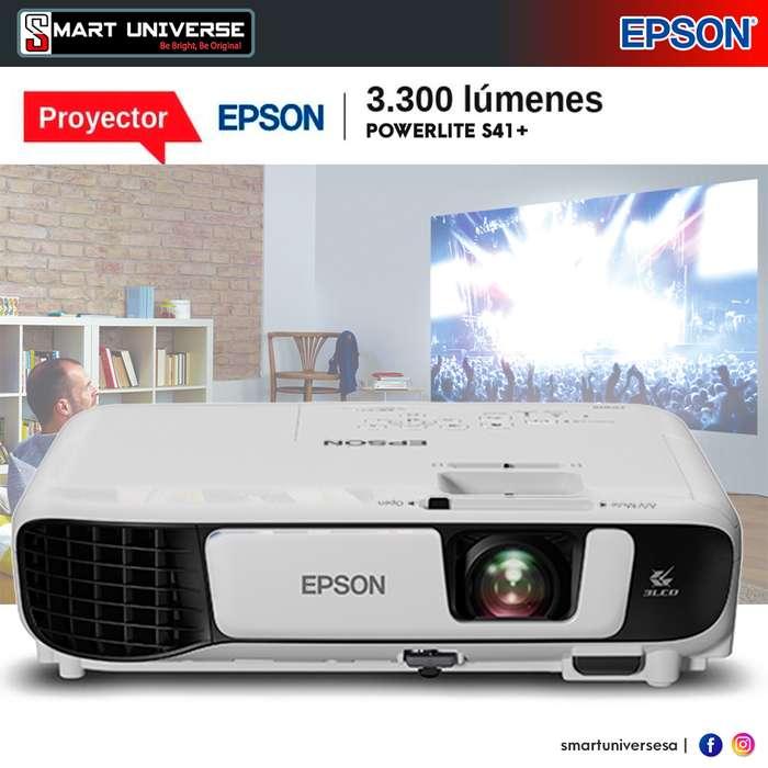<strong>proyector</strong> Epson S41 3300 Lumenes Vga Hdmi Nuevos