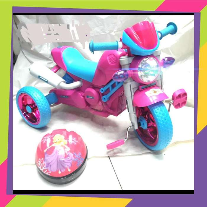 Vendo Lindo Noto Triciclo Modelo Harley