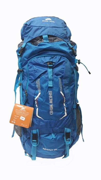 Mochila Camping Trekking 80 Lts Importada