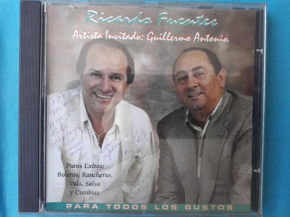 Ricardo Fuentes Cds Autografiados