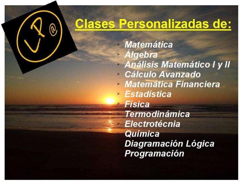 HAEDO PROFE: ESTADÍSTICA, ÁLGEBRA, FINANCIERA, QUÍMICA,FÍSICA. ESTRUCTURAS, TERMODINÁMICA,