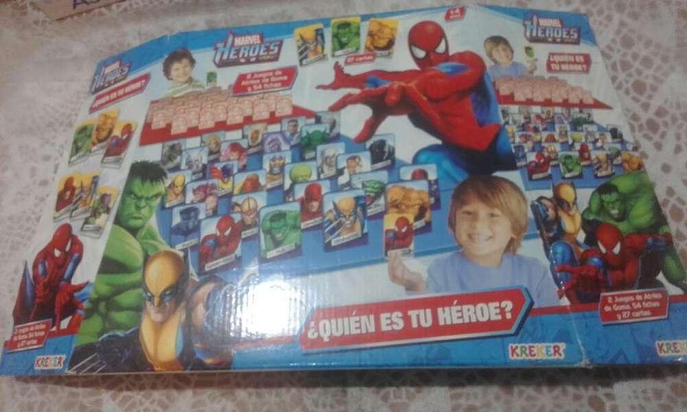 Juego de Mesa Heroes de Marvel