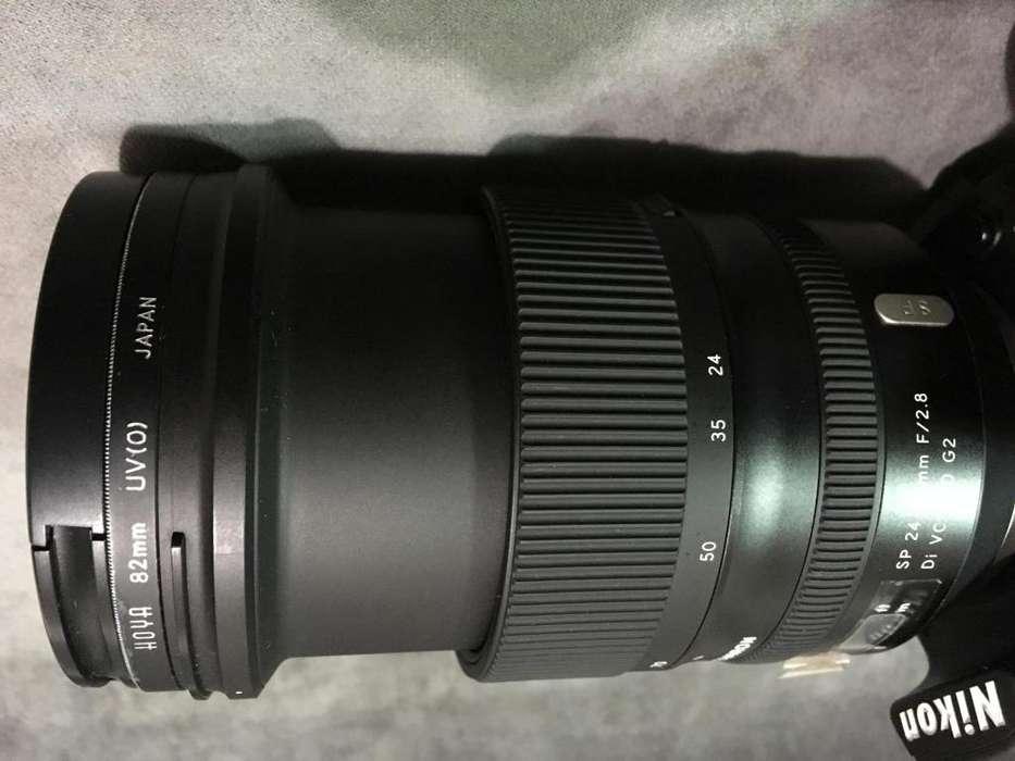 Tamron 24-70 2.8 para Nikon DI VC USD G2