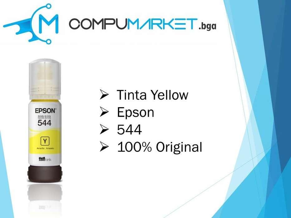 Tinta epson yellow 544 100% original nuevo y facturado