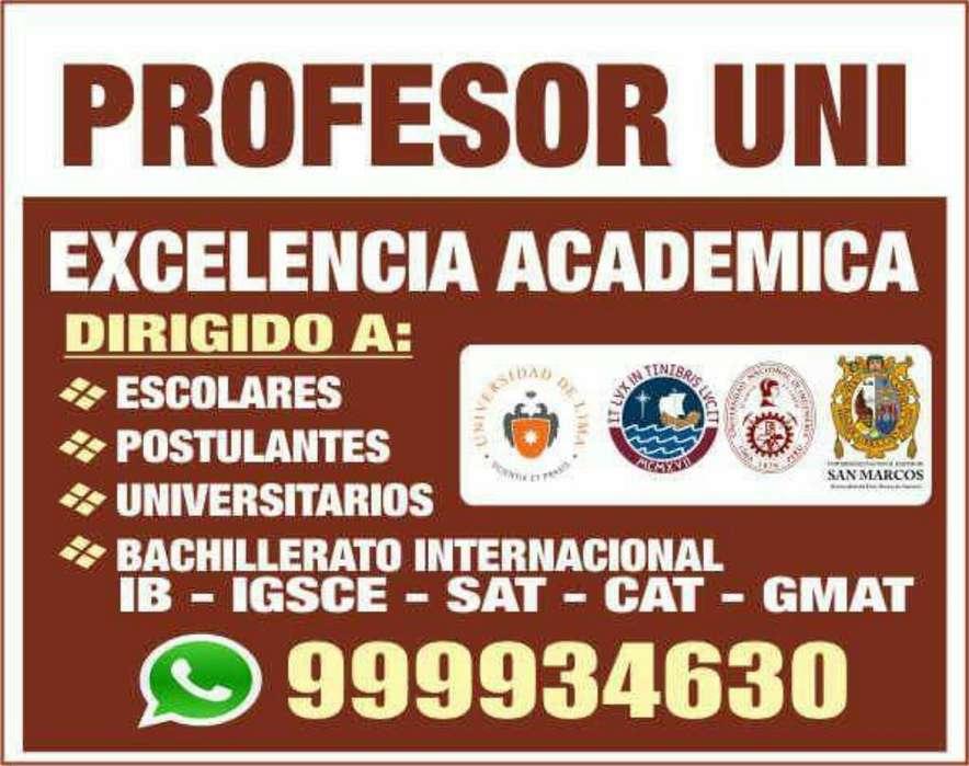 Excelencia Academica Al Mas Alto Nivel Incluso desde Cero a Escolares Y Univers