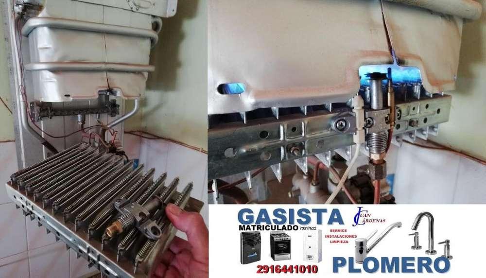 GASISTA Matriculado - El Mejor Servicio para sus Artefactos de Gas ! LIMPIEZA COMPLETA DE CALEFACTORES , 2916441010