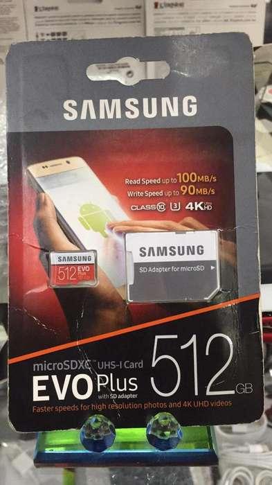 Memoria Sd 512Gb Samsung